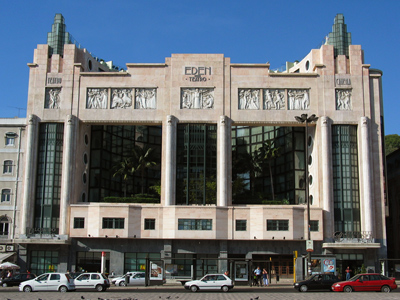 Portugal, Lisboa, Teatro Éden, Cassiano Branco, Português Suave