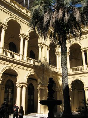 Buenos Aires, Casa Rosada, Patio de las Palmeras