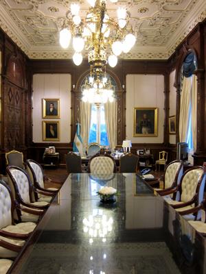 Buenos Aires, Casa Rosada, Despacho Presidencial