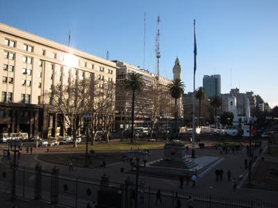 Buenos Aires, Plaza de Mayo, view from Casa Rosada balcony