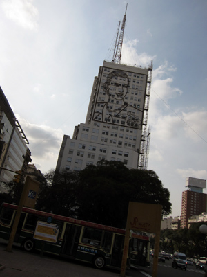 Buenos Aires, Ministerio de Obras Públicas, Eva Perón, Daniel Santoro