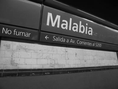 Buenos Aires, subte, Estación Malabia, Canning
