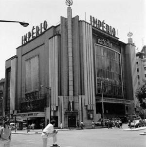 Portugal, Lisboa, Cinema Império, Cassiano Branco, Português Suave