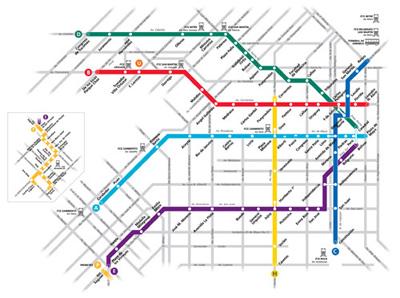 Buenos Aires, subte, mapa, 2011, Diseño Shakespear