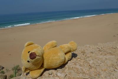 Ursula, Morocco, beach