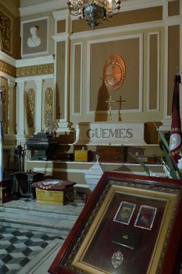 Argentina, Salta, catedral, Güemes