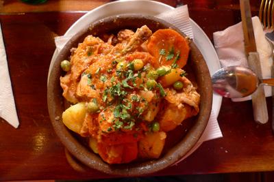 Argentina, Salta, Doña Salta, guiso de conejo, rabbit stew