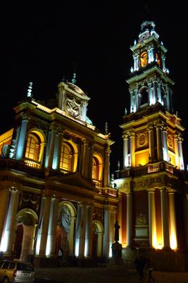 Argentina, Salta, Basílica y Convento de San Francisco