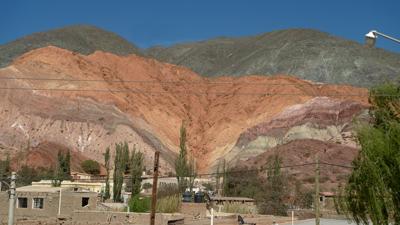 Argentina, Jujuy, Purmamarca, Cerro de los Siete Colores