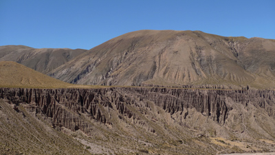 Argentina, Jujuy, rock formations