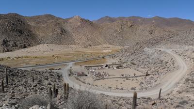 Argentina, Salta, Santa Rosa de Tastil, ruins, cemetery