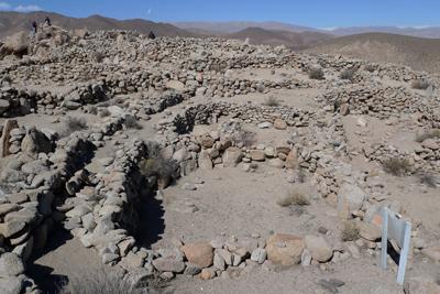 Argentina, Salta, Santa Rosa de Tastil, ruins