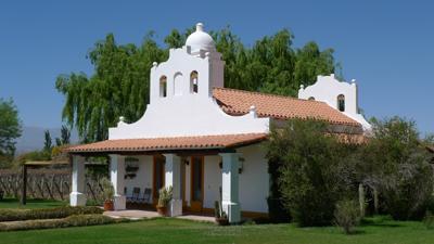 Argentina, Salta, Cafayate, Bodegas El Porvenir de los Andes