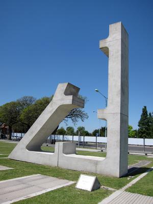 Buenos Aires, Belgrano, Parque de la Memoria, Victoria, William Tucker
