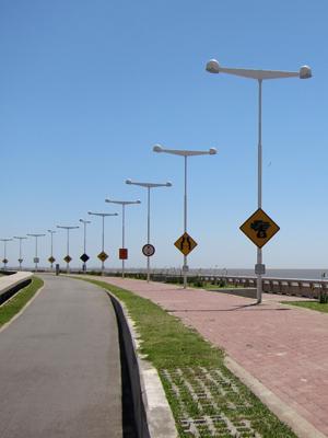 Buenos Aires, Belgrano, Parque de la Memoria, Carteles de la Memoria, Grupo de Arte Callejero
