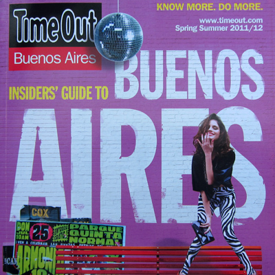 Time Out Buenos Aires, Endless Mile listing