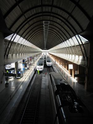 España, Spain, Sevilla, AVE, high-speed train