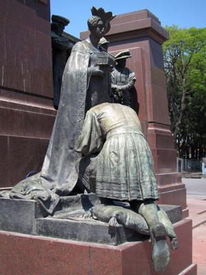 Buenos Aires, La Boca, Costanera Sur, Arturo Dresco