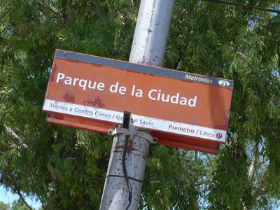 Buenos Aires, Villa Soldati, Parque de la Ciudad, Premetro
