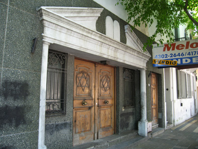 Buenos Aires, Barracas, sinagoga abandonada, 1931