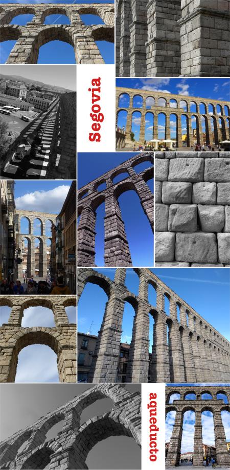 España, Spain, Segovia, acueducto, Roman