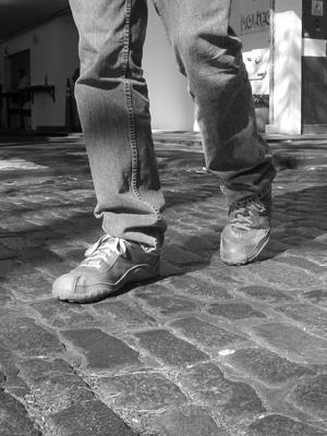 Robert Wright, cobblestones, Buenos Aires