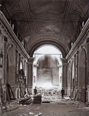 Buenos Aires, San Nicolás de Bari, 1939 demolition