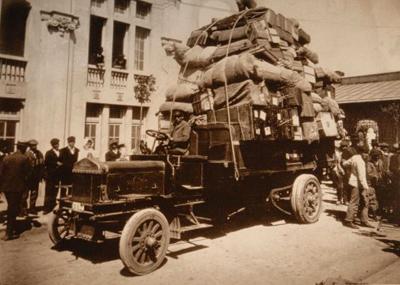 Buenos Aires, Hotel de Inmigrantes, 1912