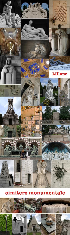 Milano, Milan, Italy, cimitero monumentale, cemetery