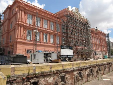 Buenos Aires, Argentina, Casa Rosada, then & now