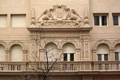 Argentina, Córdoba, Neocolonial apartment building