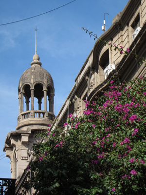 Argentina, Córdoba, Pasaje 9 de Julio, cúpula, dome