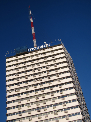 Montevideo, Avenida 18 de Julio, Movistar