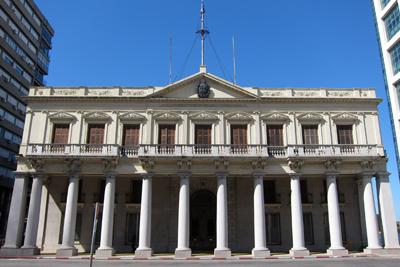 Montevideo, Plaza de la Independencia, Palacio Estévez