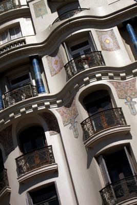 Montevideo, Avenida 18 de Julio, Edificio Café Montevideo