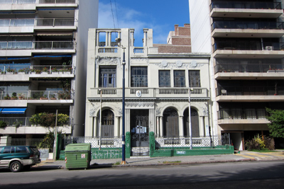 Montevideo, Pocitos, Boulevard España, Art Nouveau