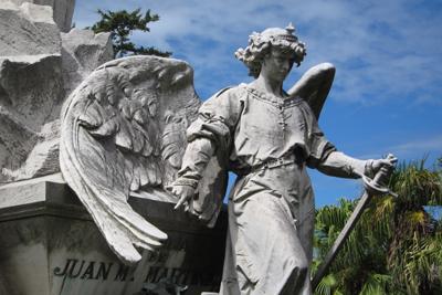 Montevideo, Cementerio Central, Juan M. Martínez