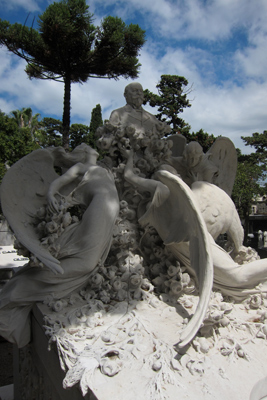 Montevideo, Cementerio Central, Art Nouveau, Domingo Juansolo