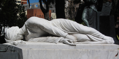 Montevideo, Cementerio Central, Arocena