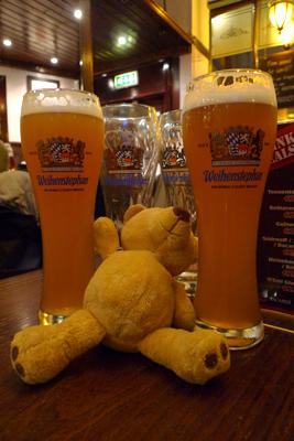Scotland, Glasgow, Ursula, Weihenstephan, beer