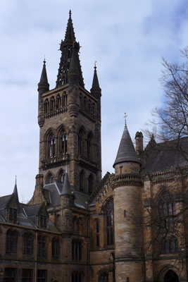 Scotland, Glasgow, Kelvingrove, University of Glasgow