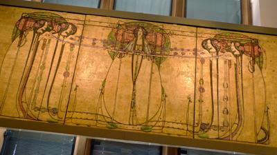 Scotland, Glasgow, Kelvingrove Art Gallery, Mackintosh, Art Nouveau