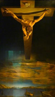 Scotland, Glasgow, Kelvingrove Art Gallery, Dalí, Cristo de San Juan de la Cruz