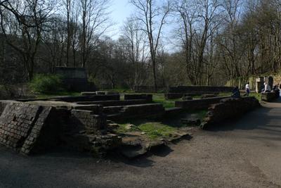Scotland, Glasgow, Kelvin Walkway, North Woodside Flint Mill