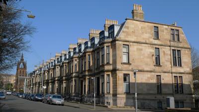Scotland, Glasgow, Belmont St