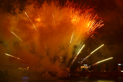 Porto, Portugal, Festa de São João, fireworks
