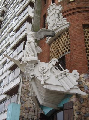 Uruguay, Montevideo, Punta Carretas, Castillo Pittamiglia