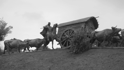 Uruguay, Montevideo, Parque Battlé, José Belloni, La Carreta