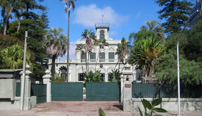 Uruguay, Montevideo, El Prado, Casa quinta Eastman