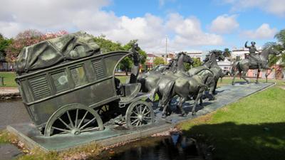 Uruguay, Montevideo, Prado, José Belloni, La Diligencia